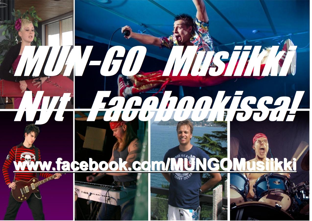 MUN-GO Musiikki Facebookissa