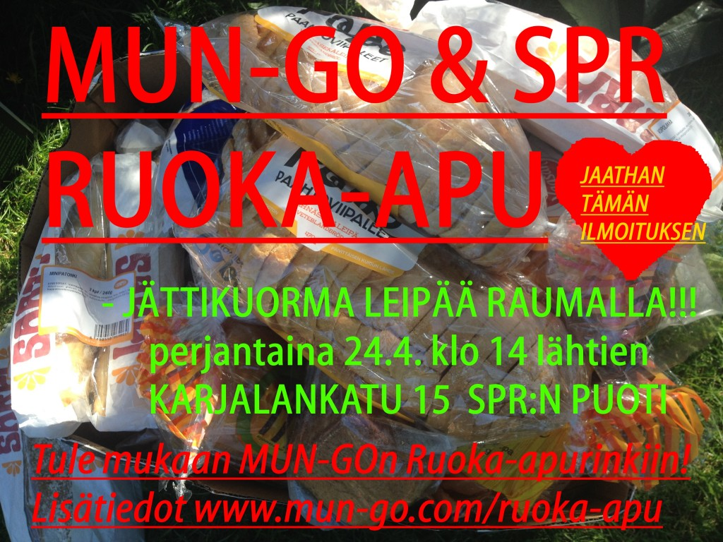 MUN-GO Ruoka-apu Rauma 1