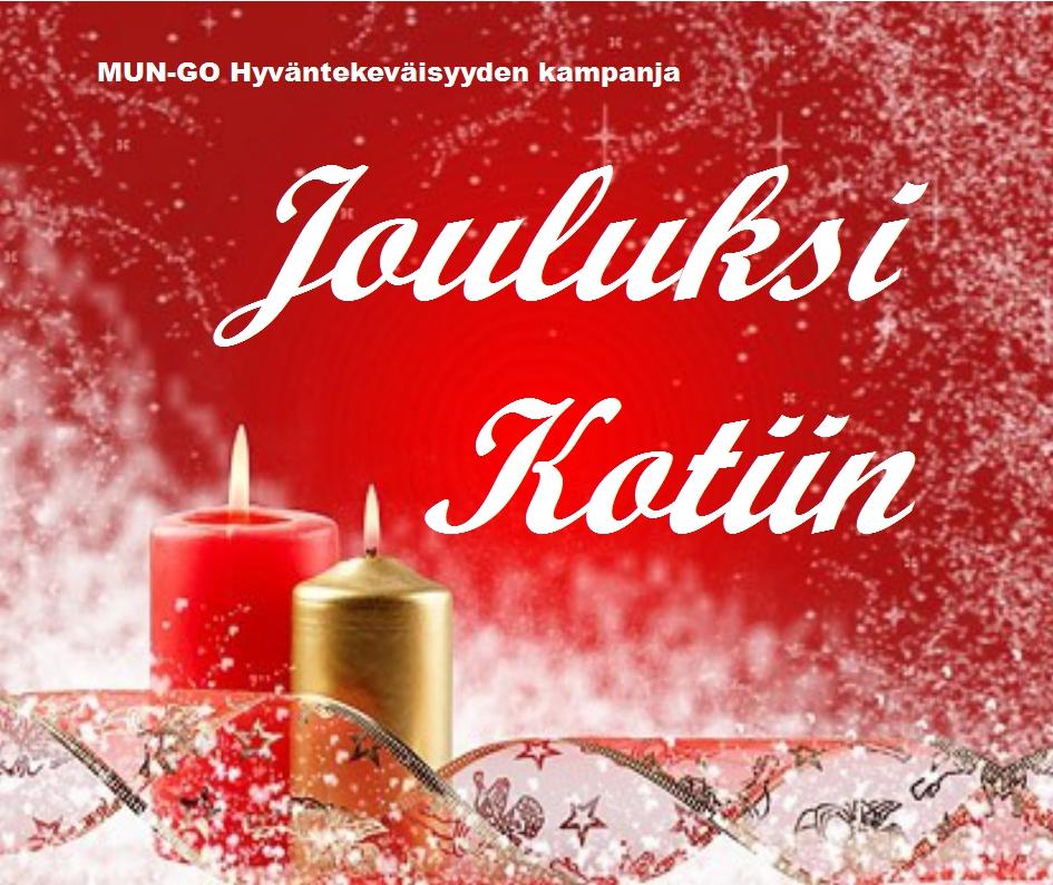 jouluksi kotiin kampanjakuva 1